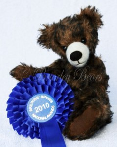 Buster - 2nd Place, Category 4, 2010 National Teddy Bear Artist Awards