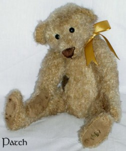 Patch - my first jointed bear