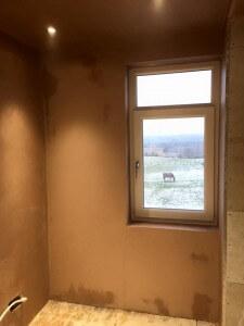 Bathroom - all plastered