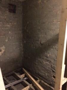 Bathroom - bare walls