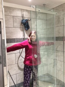 Bathroom - how huge is this shower