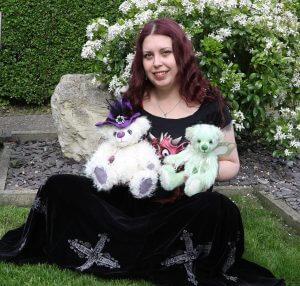 Kat - the artist behind Brierley Bears