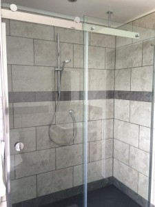 Bathroom - finished shower