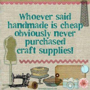 handmade is cheap?