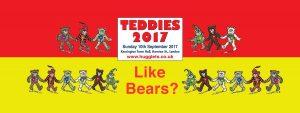 Hugglets Teddies 2017