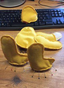 Telesto - just feet to sew