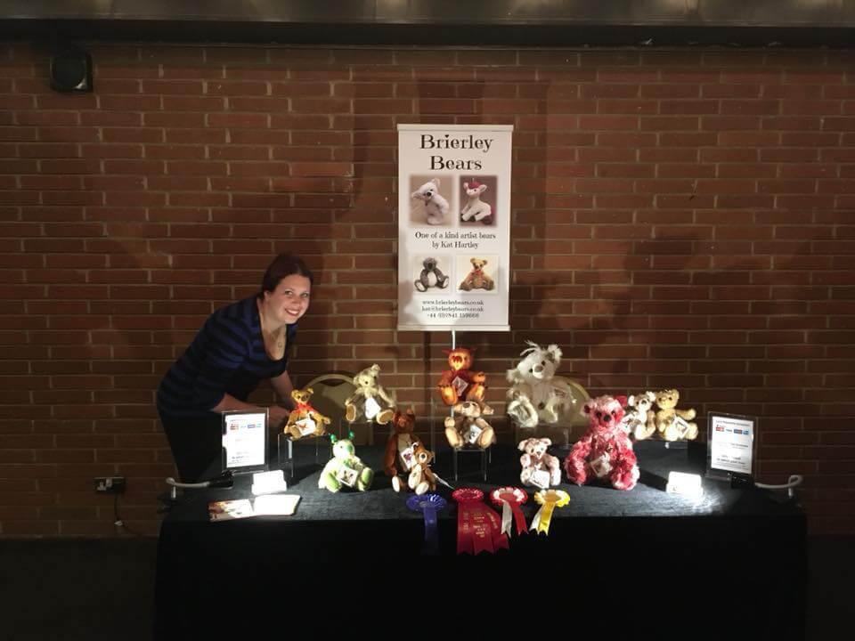 Brierley Bears' stall at Hugglets